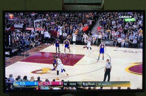 Article : Sport : j'ai vu du foot dans le basket